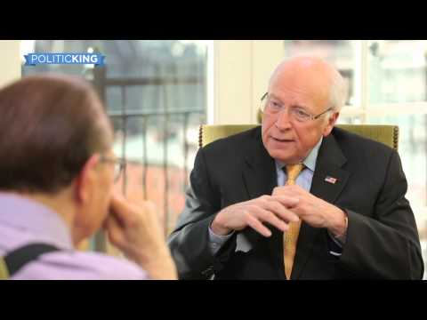 Dick Cheney talks Obama, drones, Afghanistan to Larry King
