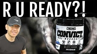 *️⃣ Condemned Labz CONVICT Pre-Workout Review | Stimmed For Dayz...