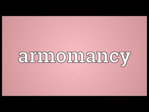 Header of armomancy