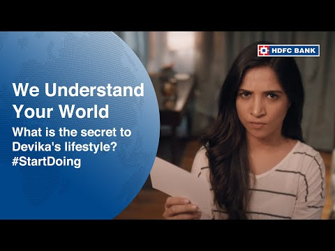 What is the secret to Devika's lifestyle?   #StartDoing with India's number 1 bank* - HDFC Bank thumbnail