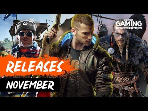 Neue Spiele im November 2020 - PC, PS5, Xbox & Switch