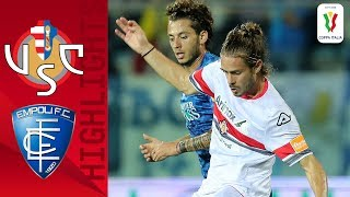 Cremonese 1-0 Empoli | Claiton Goal Separates Sides in Close Battle! | Round 4 | Coppa Italia