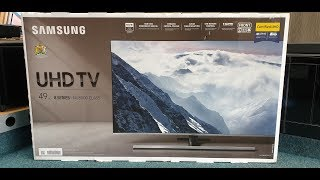 Samsung Series 8 NU8000 Unboxing and Setup UE49NU8000