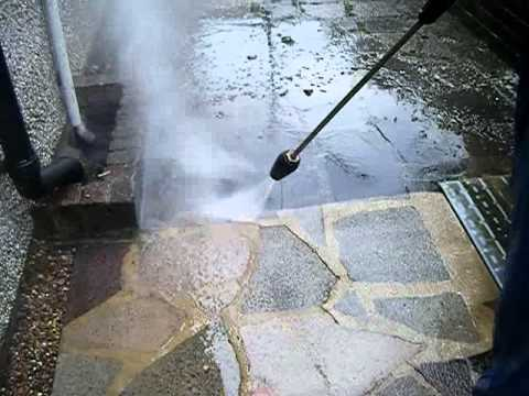 Cleaning Crazy Paving - Ultra Power Pressure Washing