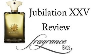 Amouage Jubilation XXV Review! Gift of Kings!