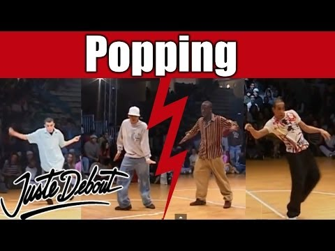 Salah/Iron Mike VS Pepito/Djidawi : Amazing Popping Battle !