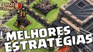 CV9 CHINÊS! AS MELHORES ESTRATÉGIAS DO MOMENTO NO CV9 | CLASH OF CLANS