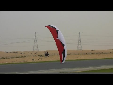 Most Amazing and Dangerous Paramotor Take Off Stunt