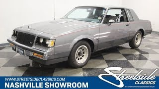 1987 Buick Regal Limited T-Type for sale | 1407 NSH