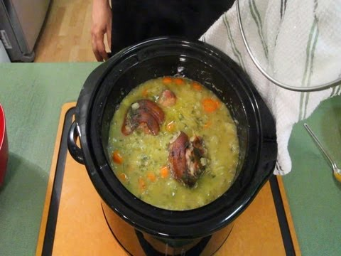 Slow Cooked Split Pea Soup with Ham Shank (231)