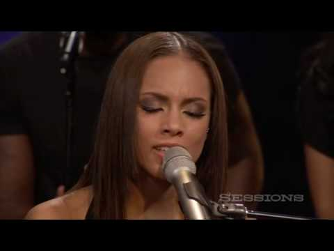Alicia Keys - Empire State Of Mind (Part II) Broken Down LIVE @ AOL Sessions Music Videos