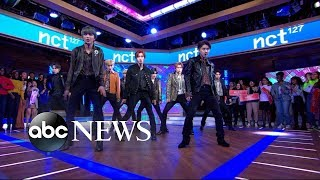 NCT 127 performs 'Cherry Bomb' and 'Superhuman'