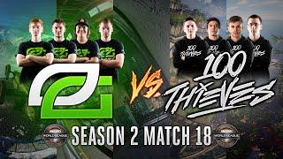Black Ops 3 CWL - Season 2 Match 18  - OpTic vs. 100Thieves
