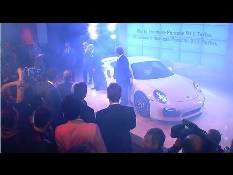 Примьера нового Porsche 911 Turbo в Москве