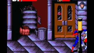 Lets play Spiderman Maximum Carnage NES Episode 1, NYC Streets.