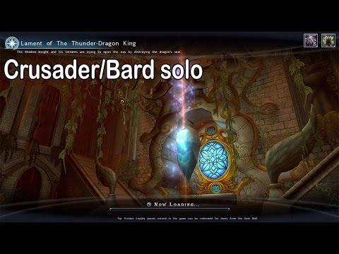Lament of the Thunder Dragon King - Crusader/Bard solo | Aura Kingdom
