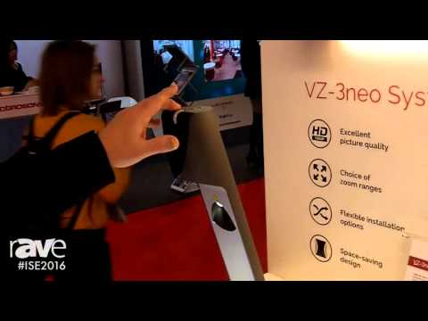 ISE 2016: Wolfision Details the New Upgraded VZ-3neo Systems