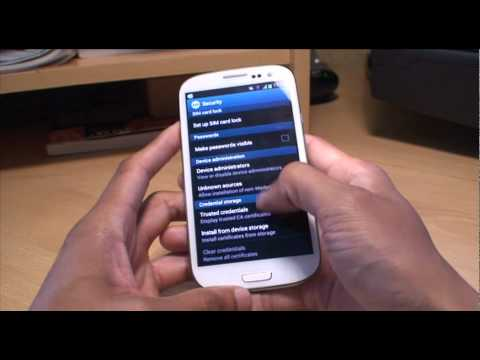 Samsung Galaxy S3: Gestures / Motion Tips & Tricks. SIII. i9300