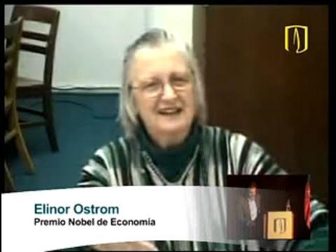 Uniandes - Videoconferencia Con Elinor Ostrom Premio Nobel De Economía