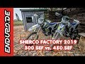 Sherco Factory SEF 300 vs. SEF 450 Test