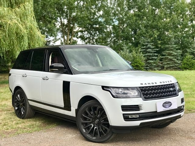 RANGE ROVER 5 LITRES SUPERCHARGED AUTOBIOGRAPHY FOR SALE ...