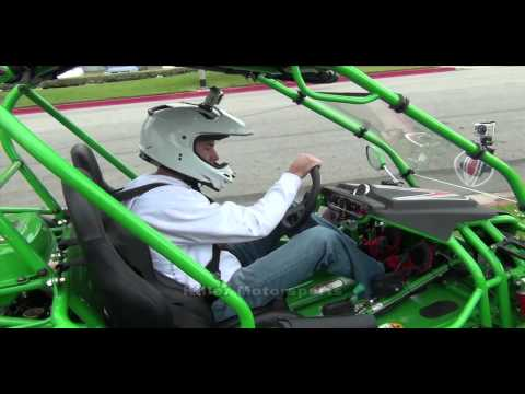 Killer Motorsports King Cobra 150 BMS Go Kart Demonstration