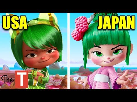 10 Disney Characters That Were Changed In Other Countries