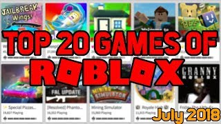 [ROBLOX] Best Games of July 2018!