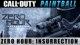 Magfed Paintball - Zero Hour: Insurrection - Hammer 7 Sniper / First Strike Rounds - Day 1/2 #SoaRRC