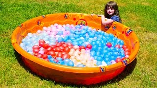 EPIC Kid Water Balloon Fight Zuru Bunch O Balloons Summer Family Fun Kinder Playtime