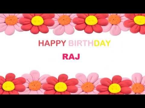 Raj   Birthday Postcards & Postales - Happy Birthday