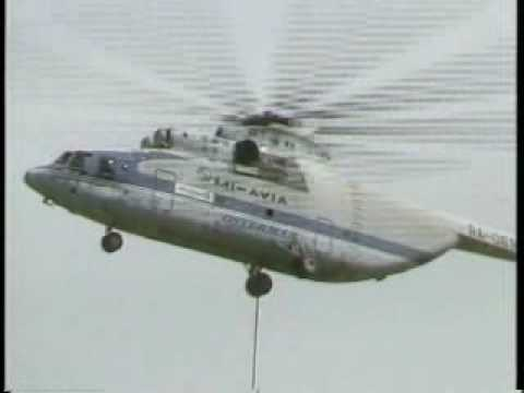 The Mil Mi-26 Helicopter