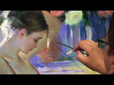 CREATING OF PAINTING  theme 5, soundtrack by Volegov