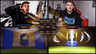 Erster WALKOUT im TOTY PACK OPENING BATTLE 💎🤑😍 FIFA 18 Wakez vs FifaGaming 😱