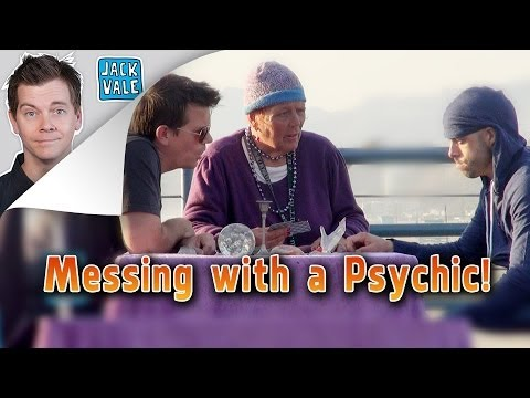MESSING WITH A PSYCHIC!