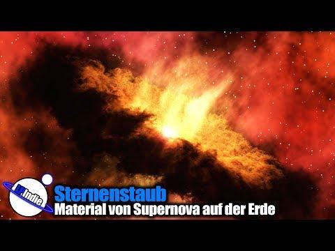 Sternenstaub: Material von Supernova auf der Erde nachgewiesen