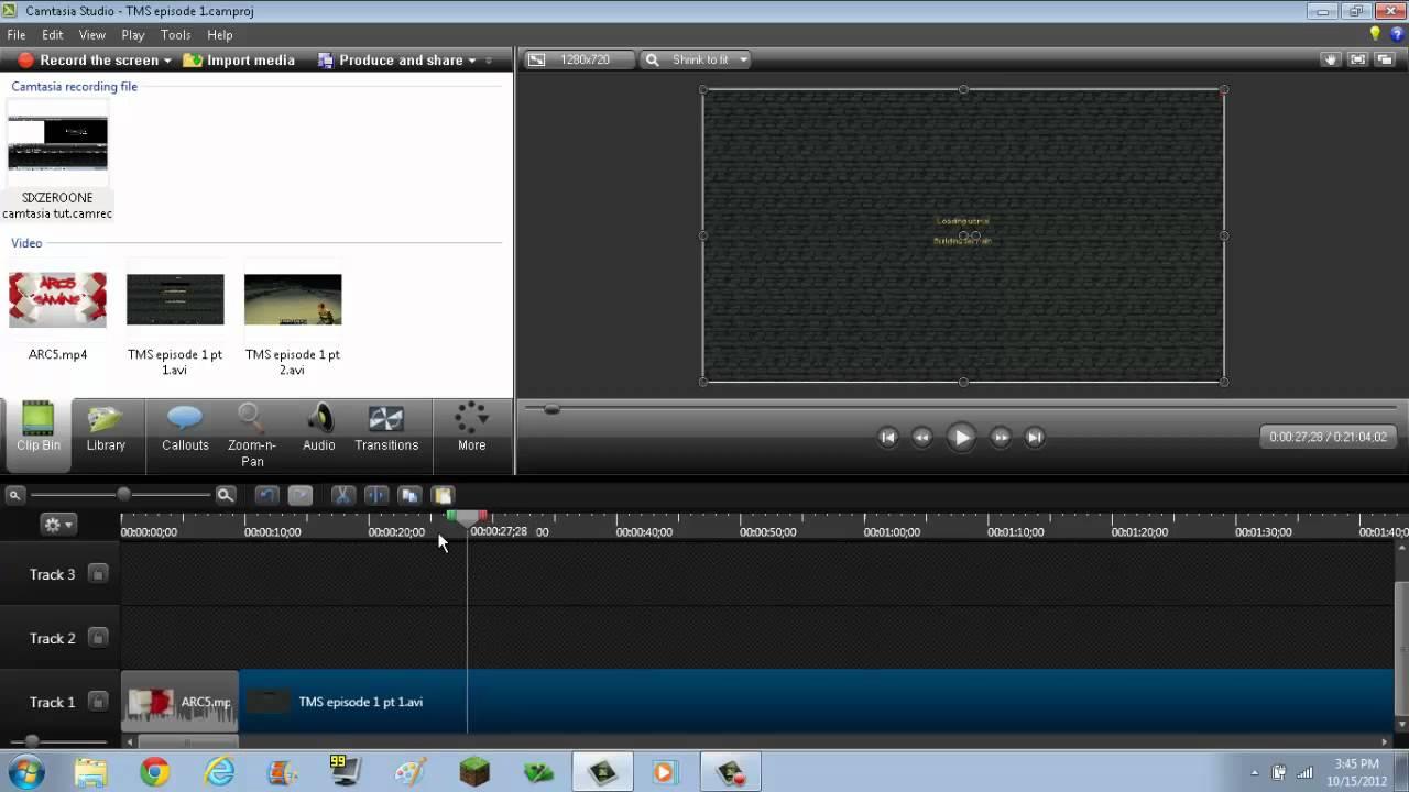 How to edit camstudio videos