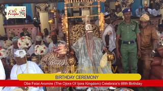 Oba Fatai Aromire The Ojora Of Ijora Kingdom Celebrate's 66th Birthday