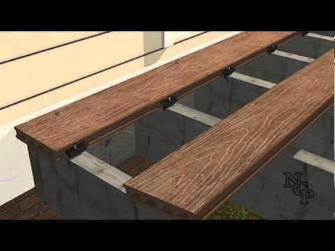 2 Composite Deck Building Parallel Installation Youtube