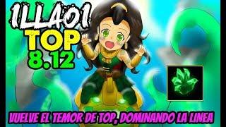 ILLAOI TOP S8 | EL AMOR-ODIO DE LA TOP LANE | Build, Runas, Maestrias 8.12 Gameplay Español NO GUIA