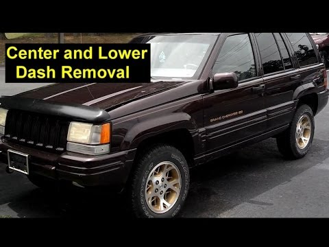 Jeep Grand Cherokee Center and Lower Dash Removal - Auto Repair Series