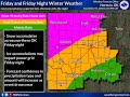 Winter Weather Update OK & TX Dec 05, 2018 5:00 PM
