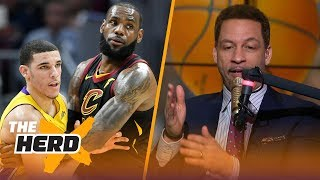 Chris Broussard believes the Lakers should trade Lonzo Ball to get LeBron James | THE HERD
