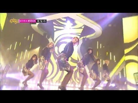 [HOT] AOA - Miniskirt, 에이오에이 - 짧은 치마, Show Music core 20140125