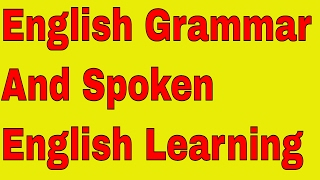 English Grammar And Spoken English Learning Through Skype Live By An Indian English Teacher!