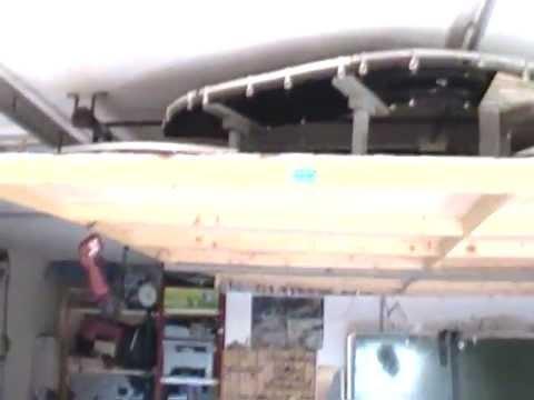 Come costruire una pista slot car da soffitto - 1° parte