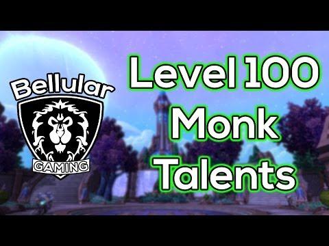 Warlords of Draenor Beta - Level 100 MONK Talents (Windwalker & Brewmaster)