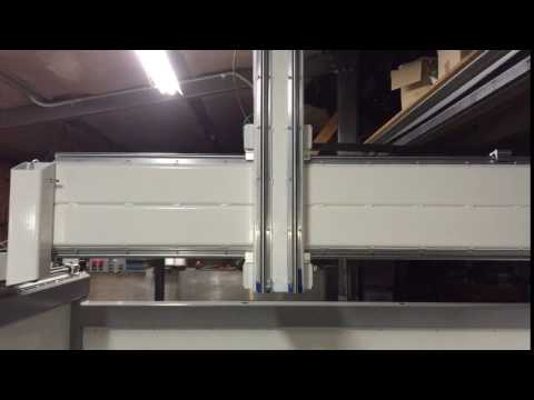 Homemade 5 Axis CNC Router Test Mach4