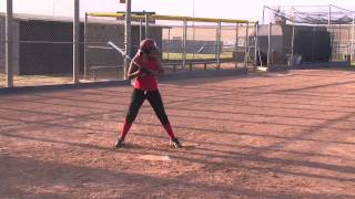 Jasmine Ullegue Softball Skills Video