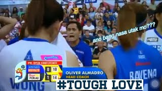 Coach Oliver Almadro admitted Deanna Wong cried to him   #ToughLove